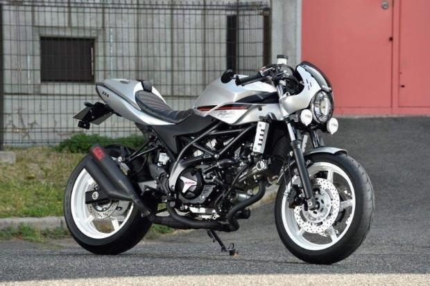 Osaka Motorcycle Show: Suzuki SV 650 Rally Concept