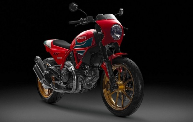 Scrambler Ducati Mike Hailwood Tribute Motorcycle