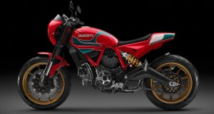 Scrambler Ducati Mike Hailwood Tribute Motorcycle