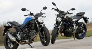 Comparison: Yamaha MT-07 vs Suzuki SV 650