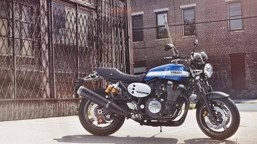 Yamaha xjr 1300 redesign