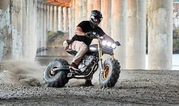 BW650 Classified Quad Tires Motorbike