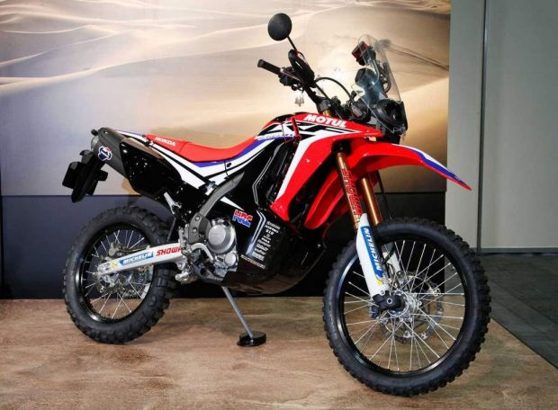Honda CRF 250 Rally in Osaka Motor Show