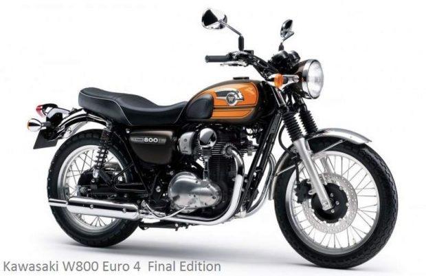 Kawasaki W800 Euro 4Final Edition