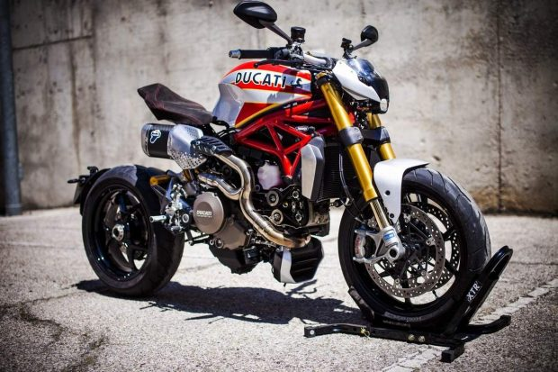 Ducati Monster 1200 to MV Agusta by Catfish Pepo XTR