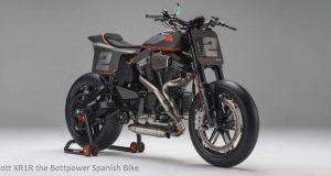 Bott XR1R Introduced the Bottpower Spanish Bike at Pikes Peak V-Twin