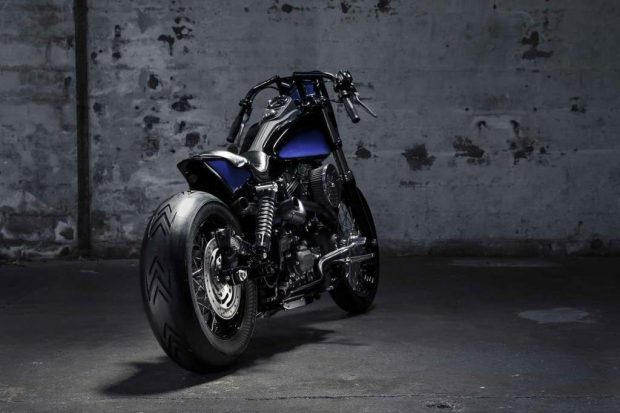 Michelin Presented Biarritz Black Wheel Custom Bike