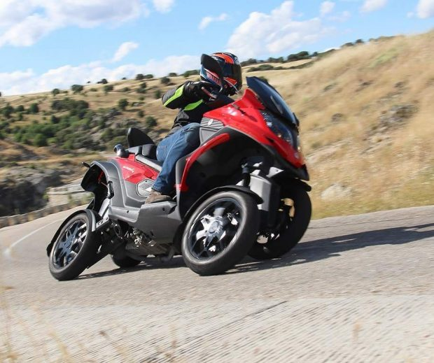 Quadro4 Swiss Four Wheels Scooter Like Tricity