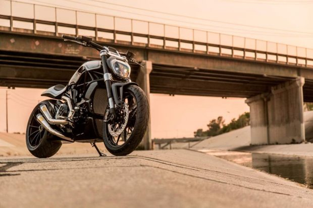 Ducati XDiavel CruiserBike byRoland Sands