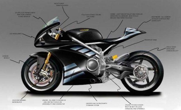 Norton V4 Superbike by NEC Motorcycle UK