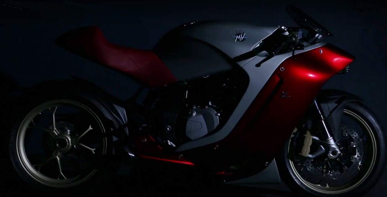 MV Agusta & Sport Prototype Motorcycle Jointly Developed with Zagato