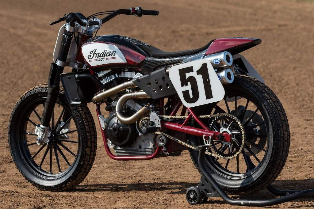 Indian Scout FTR750 Flat Track Race Bike 2017