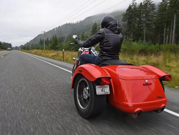 Harley-Davidson Trike Freewheeler Test 2017