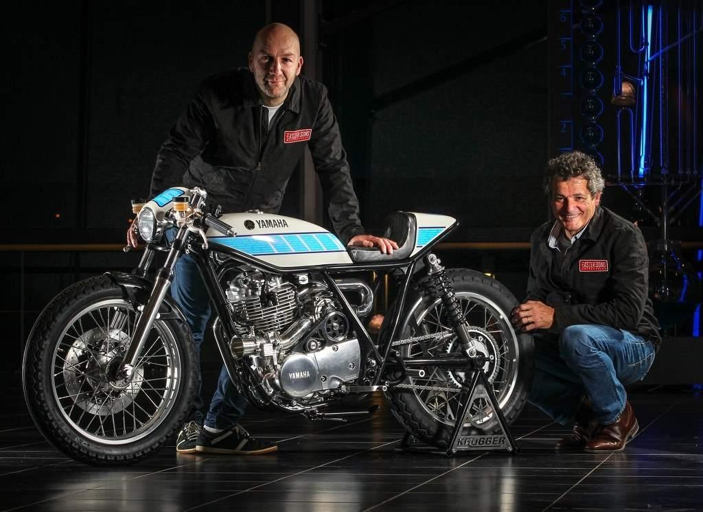 Yamaha Yard Built SR400 by Belgian Fred Krugger