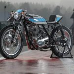 Yamaha Yard Built SR400 by Belgian Fred Krugger