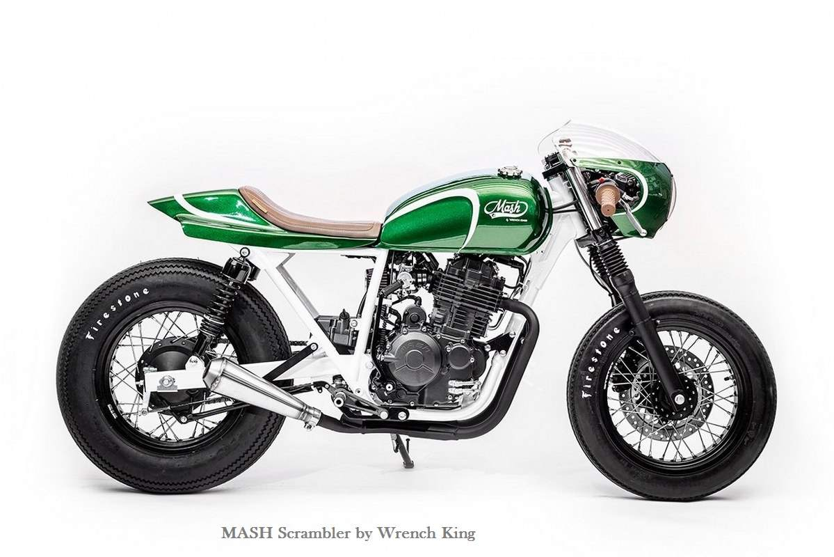 Mash Green Goblin Stylish Bike by Wrench King