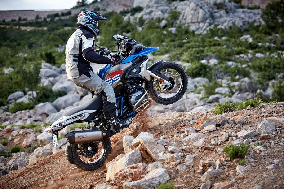 BMW R 1200 GS 2017 Drive On-Off Road Tour Motorcycle