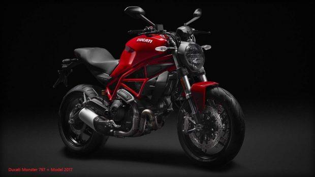 Ducati Monster 797 + Model Record Sales 2017