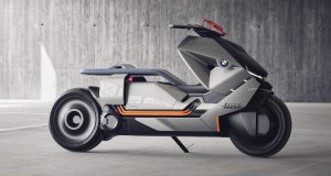 BMW Concept Link Future Maxiscooter 2017