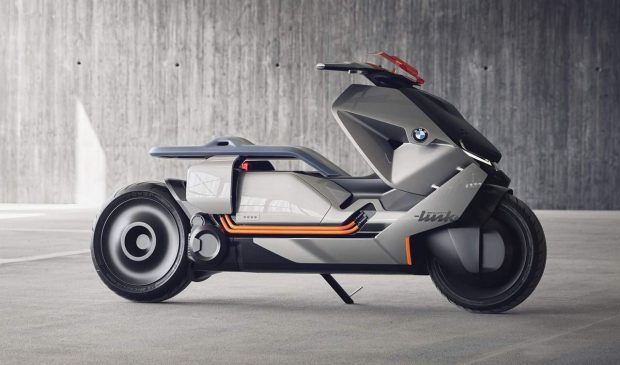 new bmw motorrad concept link scooter