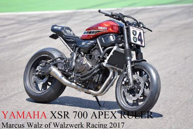 Yamaha XSR 700 Apex Ruler Walzwerk Racing Bike 2017